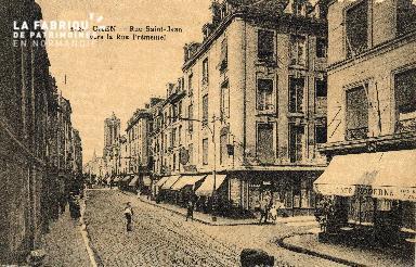 cl 03 095 Caen - La rue St-Jean vers la rue Frémentel