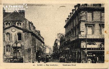cl 03 098 Caen - La rue St-Jean