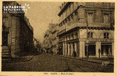 cl 03 099 Caen - La rue St-Jean