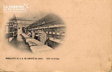 cl 03 114 Caen- Monastère de Notre-Dame de Charité