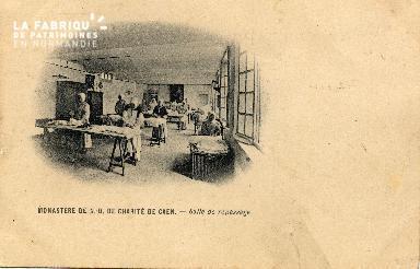 cl 03 115 Caen- Monastère de Notre-Dame de Charité