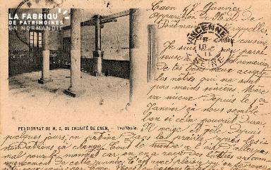 cl 03 116 Caen- Pensionnat de Notre-Dame de Charité