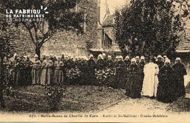 cl 03 118-Caen- Notre Dame de Charité- Socièté de Ste Madelaine