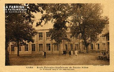 cl 03 130 Caen- École Primaire Supérieure de Jeune Fille