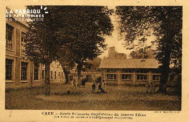 cl 03 131 Caen- École Primaire Supérieure de Jeune Fille