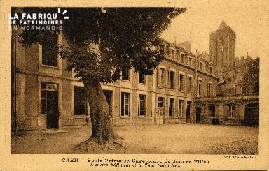 cl 03 132 Caen- École Primaire Supérieure de Jeune Fille