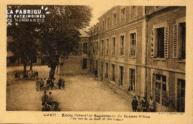 cl 03 133 Caen- École Primaire Supérieure de Jeune Fille