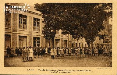 cl 03 134 Caen- École Primaire Supérieure de Jeune Fille