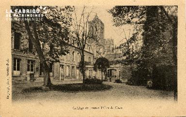cl 03 136 Caen- Collège de Jeune Filles