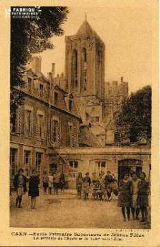 cl 03 137 Caen- École Primaire Supérieure de Jeune Fille