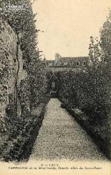 cl 03 152 Caen- communauté de la miséricorde, grande allée du sacré-co