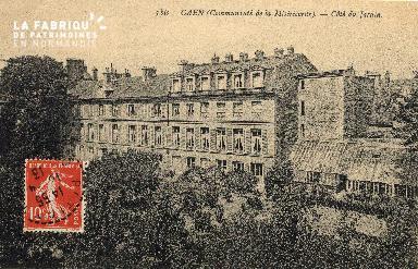cl 03 153 Caen - communauté de la misericorde (coté jardin)