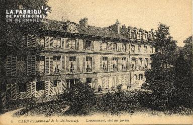 cl 03 154 Caen - communauté de la misericorde (coté jardin)