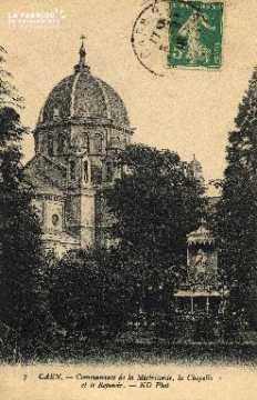cl 03 161 Caen - Notre dame de la miséricorde- la chapelle