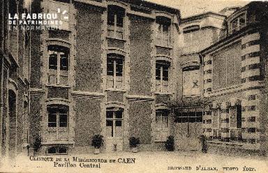 cl 03 163 Caen - clinique de la miséricorde