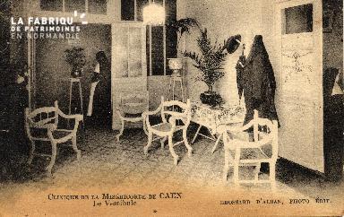 cl 03 172 Caen - clinique de la miséricorde - le vestibule