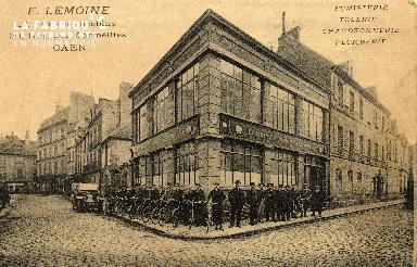 cl 03 178  Caen - Fumisterie, Tolerie, Chaudronnerie, plomberie, E. LE