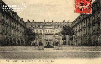 cl 03 182 Caen- la gendarmerie - la façade