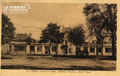 cl 03 190 Caen -école des Filles- Boulevard Bertrand