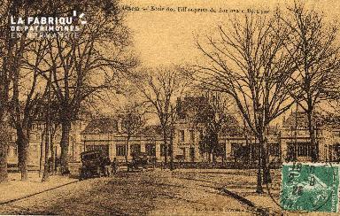 cl 03 192 Caen- Ecole des filles prise du Boulevard Bertrand