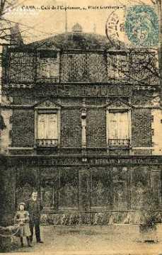 cl 03 196 Caen - Café de l'espérance, 4 place Gambetta