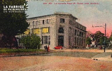 cl 03 198 Caen - la nouvelle Poste