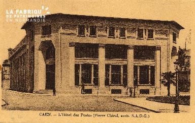 cl 03 200 Caen Hotel des postes