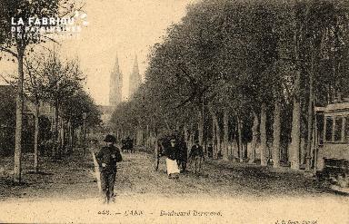 cl 03 208 Caen   le boulevard Bertrand