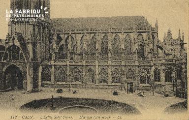 Cl 04 006 Caen- l'église St-Pierre