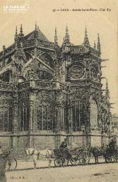Cl 04 018 Caen- Abside St-Pierre - Côté Est