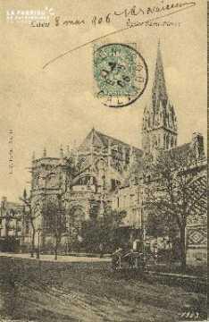 Cl 04 021  Caen- l'église St-Pierre