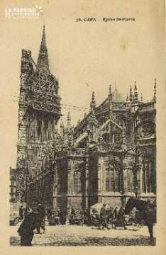 Cl 04 032 Caen- l'église St-Pierre