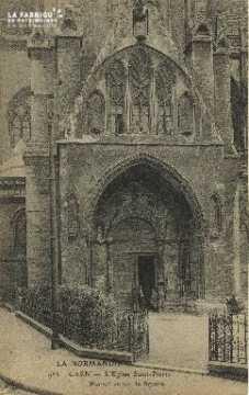 Cl 04 034 Caen- l'église St-Pierre