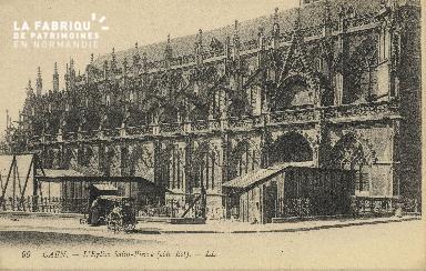 Cl 04 035 Caen-  l'église St-Pierre
