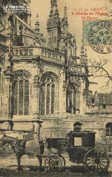 Cl 04 038 Caen- Abside de l'église St-Pierre