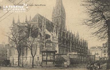 Cl 04 040 Caen- l'église St-Pierre