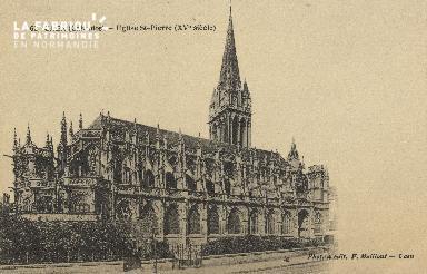 Cl 04 056 Caen- église St-Pierre (XV siècle)