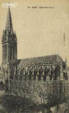 Cl 04 059 Caen-  l'église St-Pierre