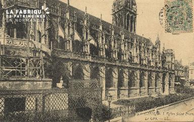 Cl 04 060 Caen- l'église St-Pierre