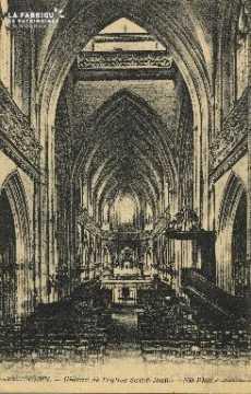 Cl 04 063 Caen- Choeur de l'église St-Jean