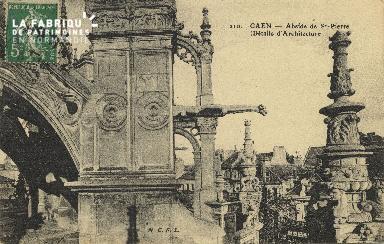 Cl 04 065 Caen- Abside de  St-Pierre