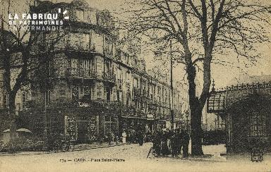Cl 04 079 Caen- Place St-Pierre
