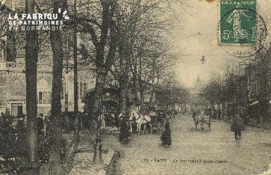 Cl 04 081 Caen- Le boulevard St-Pierre
