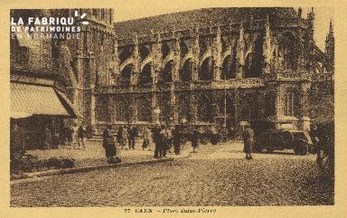 Cl 04 083 Caen- Place St-Pierre