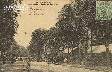Cl 04 085 Caen- Boulevard St-Pierre