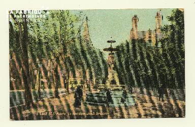Cl 04 110 Caen- Boulevard St-Pierre, la fontaine des trois Grâces