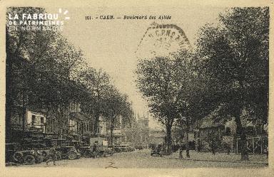 Cl 04 113 Caen- Boulevard des Alliès