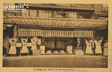 Cl 04 114 Caen- Etalage du jeudi 12 février 1931