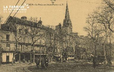 Cl 04 115 Caen- Le boulevard St-Pierre