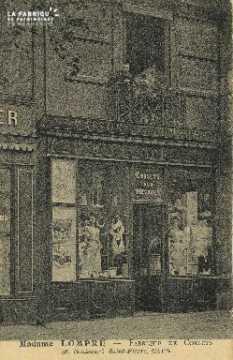 Cl 04 116 Caen- Madame LOMPRÉ- Fabrique de Corsets, 38 Boulevard St-Pi